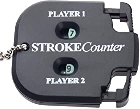 CHXIHome Golf Shot Count Stroke Putt Score Counter Compteur, Black Two Digits Golf Accessories, Golf Training Aids Golf Ac...