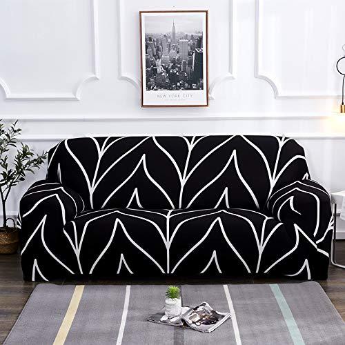 LiQinKeJi8 Funda de sofá, Sofá elástica Cubiertas para Sala de Estar Todo Incluido Tapa de sofá Resistente a Resistencia Estiramiento L Forma de Esquina Sofá Sofá Asignación 1pc para sofás