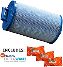 Pleatco Cartridge Filter PDM25P4-M Dream Maker Spas (Antimicrobial) w/ 3x Filter Washes