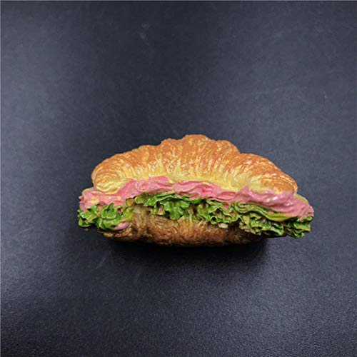Lyt Food brood koelkast pasta Peking eend pizza hotdog broodje hamburger hars koelkast magneet creatief eten