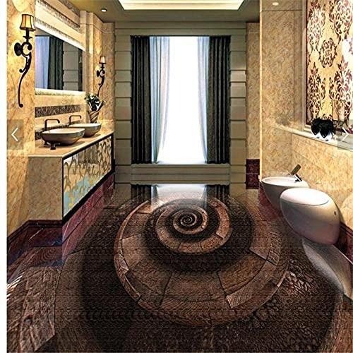 Suelo Vinilico Pvc Habitación Sala De Estar Cafetería Bar Baño De Visitas Baño Sala De Estar Dormitorio Personalizado Vestíbulo Del Hotel Arte Baño 3D Piso-250 * 175 Cm Para La Habitación De Los Niñ