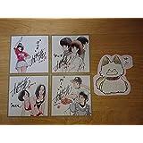 『MIX』『タッチ』あだち充夏祭りコミック特典ミニ色紙全4種セットとパンチ型ダイカットメモ帳