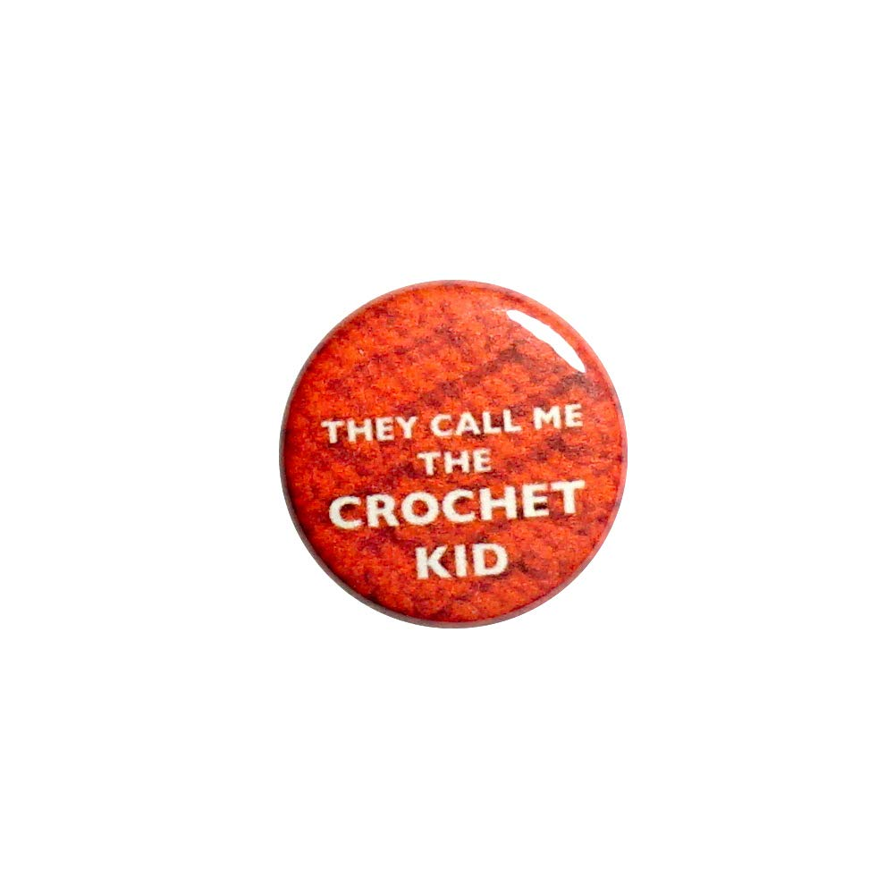 They Call Cash special Industry No. 1 price Me The Crochet Kid Pinback Button or Book Backpack Bag