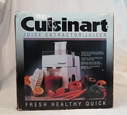 Juice Extractor/Juicer Model JE-4 by Cuisinart