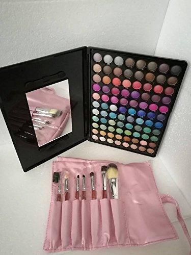 blush kit italien maquillage 88 ombres à paupières et brosses 7 Voyage