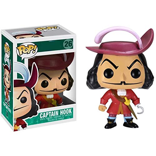 Funko Pop Movies : Peter Pan - Captain Hook 3.75inch Vinyl Gift for Fairy Tale Fans SuperCollection
