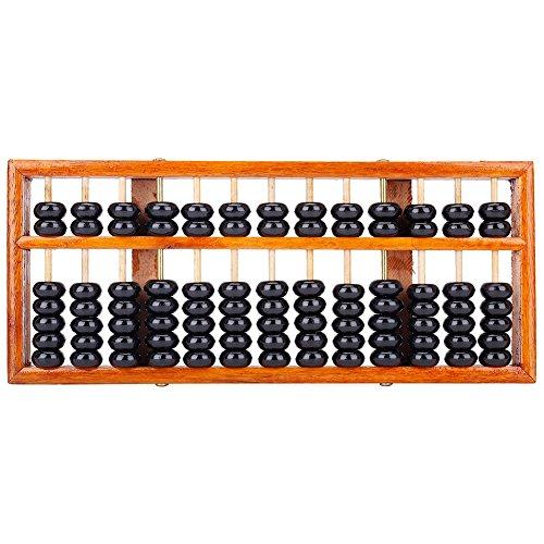 potente para casa TININNA 13 dígitos ábaco de madera antiguo chino ábaco herramienta de matemáticas educativa …