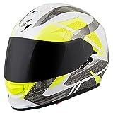 ScorpionEXO EXO-T510 Full-Face Fury Adult Street Motorcycle Helmet - White/Silver/Large