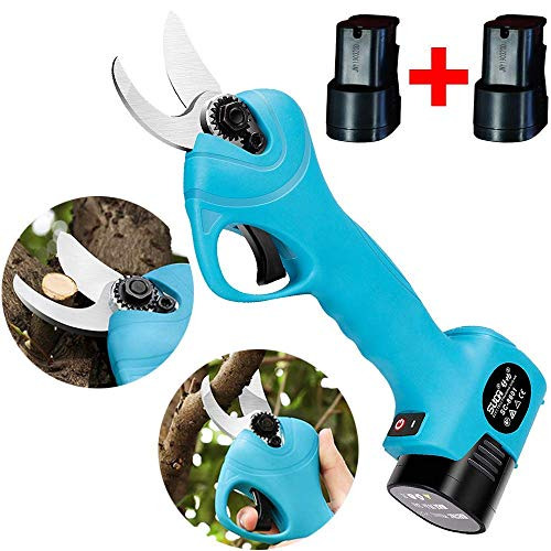 Review Of GTTBS-jd Electric Pruner, Electric Scissors for Boxwood Garden Lawn, Cordless Pruning Shea...