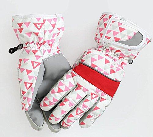 Longless Winter ski handschuhe verdickung warme outdoor radfahren wasserdicht winddicht kalte baumwolle handschuhe