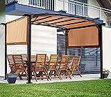 AECOJOY Retractable Pergola Canopy