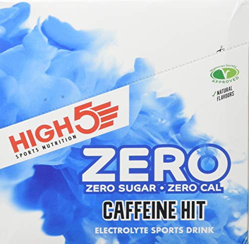 High5 Zero Caffeine Hit Tablates Peach Ice Tea, 8-Count