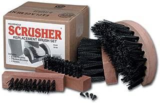 Scrusher Deluxe Boot Cleaner SB5U Replacement Brush Set - 5 Piece Set