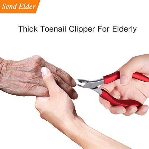 Toenail clippers for elderly, Used For Thick Toenails 、Fungi Toenails 、Ingrown Toenails. Long Handle,...