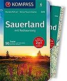 KOMPASS Wanderführer Sauerland mit Rothaarsteig: Wanderführer mit Extra-Tourenkarte 1:100.000, 50 Touren, GPX-Daten zum Download