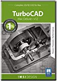 TurboCAD Mac Deluxe 2D/3D v12 [Mac Download]