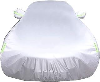 Autoabdeckung Plus Cashmere Car Cover Kompatibel Mit Mazda CX 3 CX 30 CX 5 CX 7 CX 9 All Wetter Wasserdicht Und Langlebig Anti Kratz (Color : Silver, Size : CX 3)
