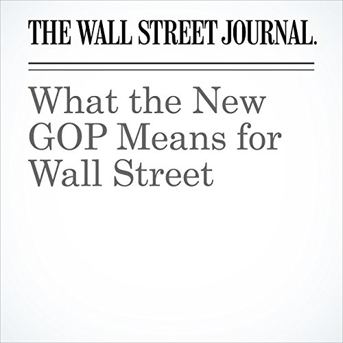 What the New GOP Means for Wall Street cover art