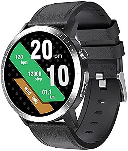 LLM Caliente RC06 ECG PPG pulsera inteligente reloj inteligente monitor de ritmo cardíaco presión arterial fitness Tracker reloj inteligente para Android, IOS (D)