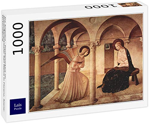 Lais Puzzle Fra Angelico - Ciclo di affreschi nel convento domenicano di San Marco a Firenze, Scena: Annunciazione 1000 Pezzi