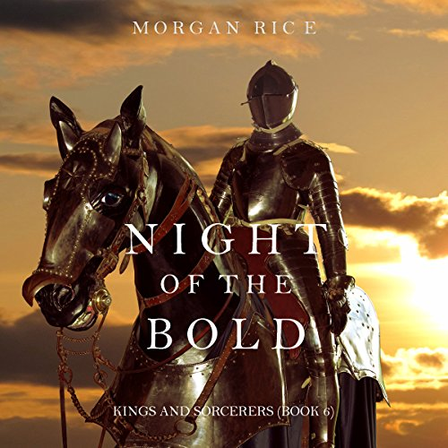 Night of the Bold audiobook cover art