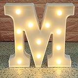 Broadroot 3D Englisch Buchstaben Form LED Nachtlicht Wandbehang Festzelt Zeichen Alphabet Licht...