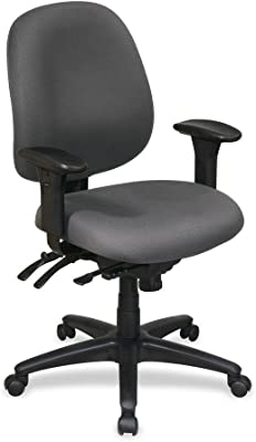 Lorell LLR60535 High Performance Task Chair Gray