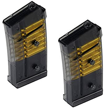 2X  Double Eagle M82 M82P Spare Clip or Magazine for Tactical Airsoft AEG Rifle