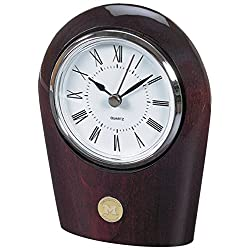 NCAA Michigan Wolverines Adult Palm Clock, Silver