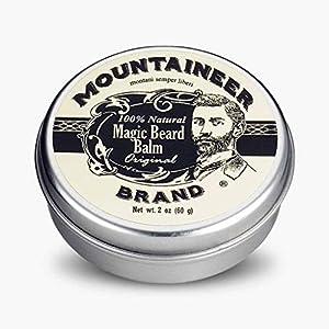 Magic Beard Balm by Mountaineer Brand: All Natural Beard Conditioning Balm (Original) 5