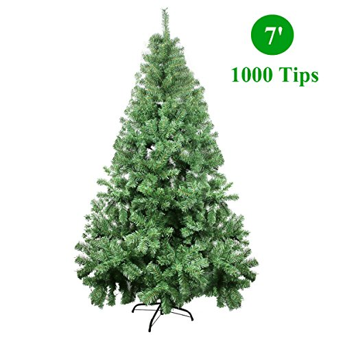 CelebrationLight Christmas Tree - Xmas Tree - Artificial Christmas Pine Trees - 1000 Branch Tips for...