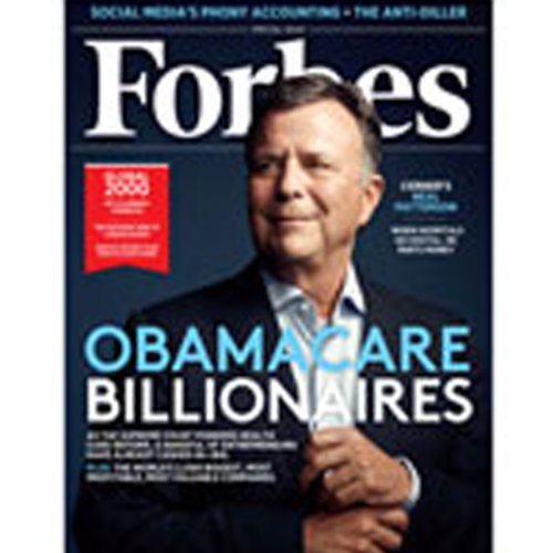 Forbes, April 23, 2012 audiobook cover art