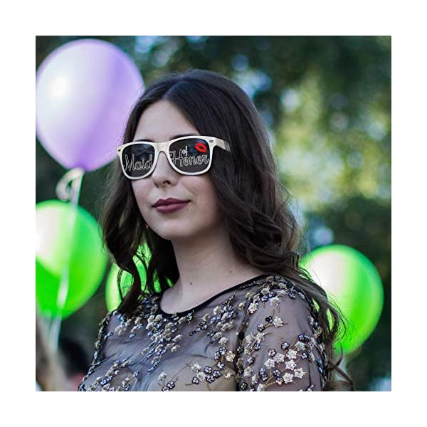 LogoLenses Direct-to-Lens Printed Wedding Party Tinted Sunglasses