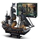 Puzzle 3D Queen Anne's Revenge Rompecabezas, 3D Nave Kit de
