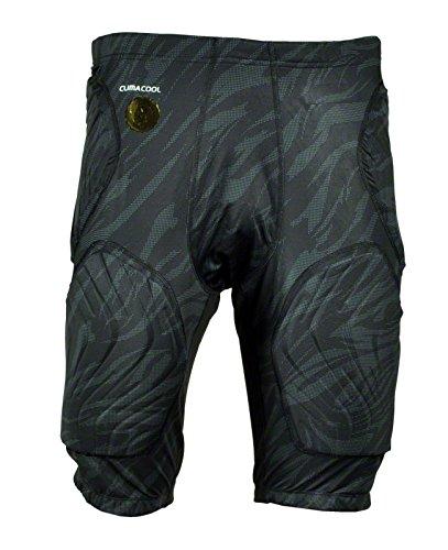 adidas Performance Techfit Padded Short Hose gepolstert GFX schwarz 3XL