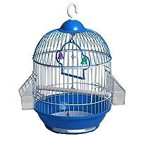 鳥かご 金属錬鉄製の鳥かご真珠の鳥アカシアの鳥オウムの鳥の別荘を運ぶのに便利 トラベルバードケージ