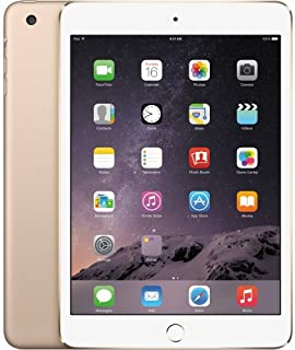 Apple iPad Mini 4 with Facetime Tablet - 7.9 Inch, 128GB, 4G LTE, Gold