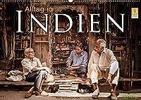 Alltag in Indien (Wandkalender 2022 DIN A2 quer): 12 Alltagsszenen aus Indien (Monatskalender, 14 Seiten )
