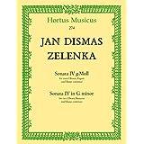 ヤン・ディスマス・ゼレンカ : ソナタ 第四番 ト短調 ZWV.181.4 (オーボエ2本、ファゴット、通奏低音) ホルトゥス・ムジクス(ベーレンライター)出版