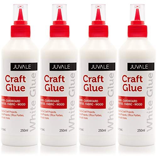 Craft Glue with Fine Tip (8.5 oz, White, 4 Pack)