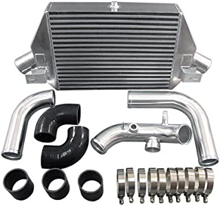 Intercooler + Piping Kit For Dodge Neon SRT-4 SRT 4 Black Hoses
