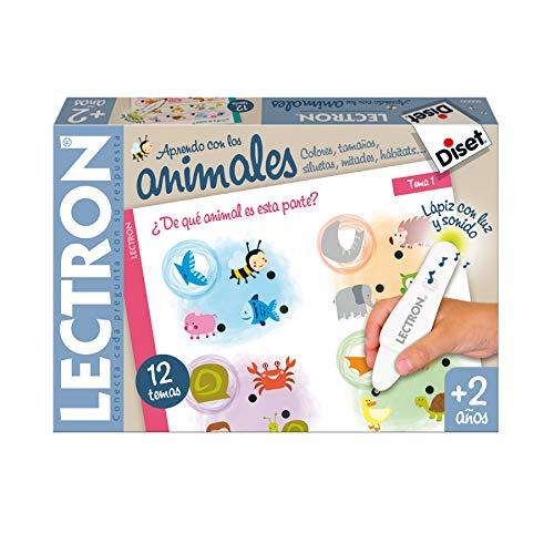Diset - Lectron Baby animales, Juego educativo a partir de 2 años