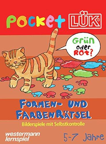 pocketLÜK: Formen- und Farbenrätsel: 5 - 7 jahre
