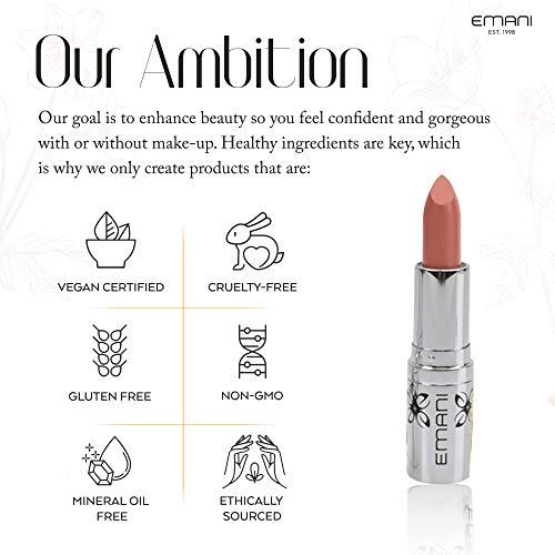 Emani Hydrating Vitamin E Lipstick - Ava