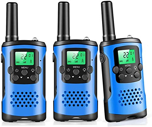 Walkie Talkies for Kids, 22 Channel 2 Way Radio 3 Mile Long Range Kids Toys & Handheld Kids Walkie Talkies, Best Gifts & Top Toys for Boy & Girls Age 3 4 5 6 7 8 9 for Outdoor Adventure Game, Boys Toy