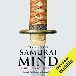 Training the Samurai Mind     A Bushido Sourcebook              By:                                                                                                                                 Thomas Cleary (translator/editor)                               Narrated by:                                                                                                                                 Brian Nishii                      Length: 8 hrs and 15 mins     141 ratings     Overall 4.2