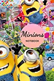 NOTEBOOK MINIONS FOR KIDS: Notebook with 150 lined pages (6 X 9) PO. Motivational adults Journal blank pages Journal Book Journal Book For Kids ... Journal For Writing Journal Lined Pages,
