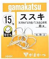 がまかつ(Gamakatsu) バラ ススキ(銀) 15