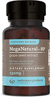 Sponsored Ad - MegaNatural-BP - 150mg Sustained Release Grape Seed Extract - 120 Tablets - Helps Support Healthy Circulati...