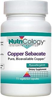 NutriCology Copper Sebacate 75 Vegetarian Capsules